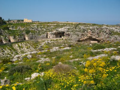 fort mosta end start Malta's Victoria Lines