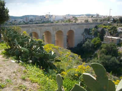 fort mosta road bridge Victoria Lines Malta