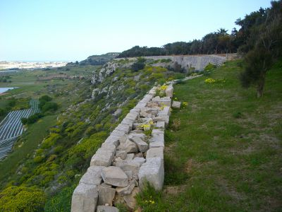 Victoria Lines Malta fort mosta walking route