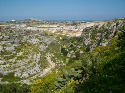 into the valley of death rode the six hundred Malta's Victoria Lines