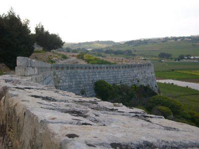 musketry loop holes Victoria Lines Malta