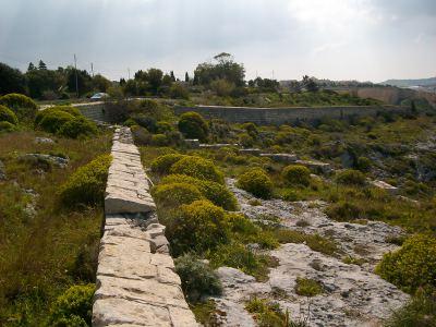 Naxxar Gap Cart Ruts Malta's Victoria Lines