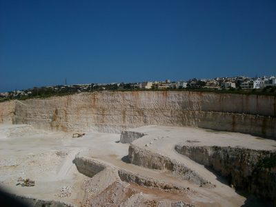 quarry quarrying quarries malta Malta's Victoria Lines