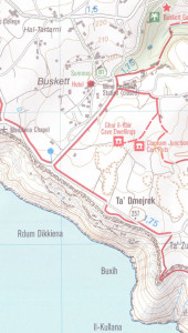 Malta Gozo walking maps