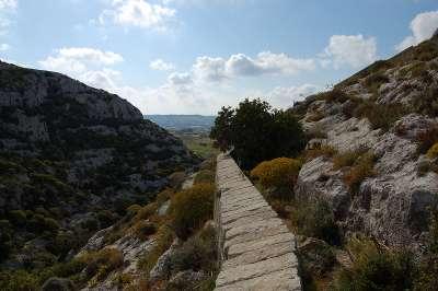 overgrown Gharghur Gharghur victoria lines malta island