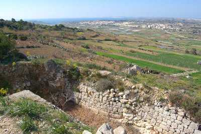 the Dwejra Victoria Lines Malta are defensive fortifications and walls built by the British in 1897